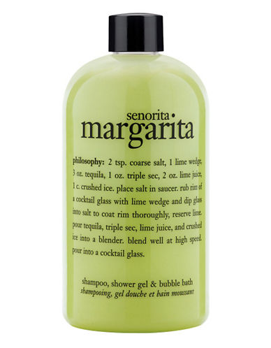 Philosophy senorita margarita shampoo shower gel and bubble bath-NO COLOUR-480 ml