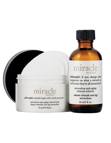 Philosophy miracle worker miraculous anti aging retinoid pads-NO COLOUR-One Size