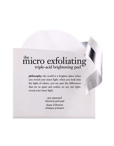 Philosophy micro exfoliating triple acid brightening peel-NO COLOUR-One Size