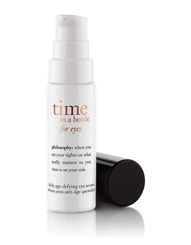 Philosophy time in a bottle eye age defying serum for eyes-NO COLOUR-15 ml