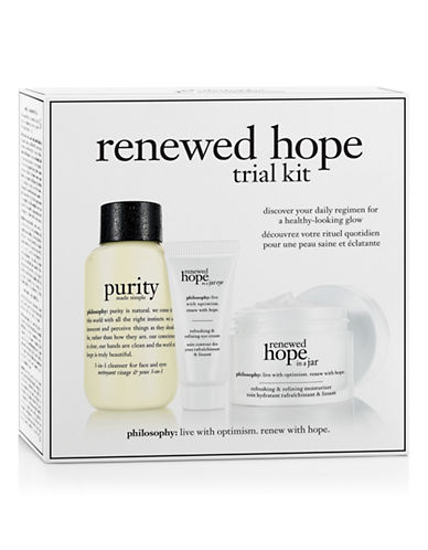 Philosophy Renewed Hope in a Jar Trial Kit-NO COLOUR-One Size