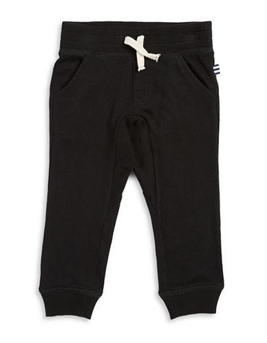 Splendid Knit Jogger Pants-BLACK-2T