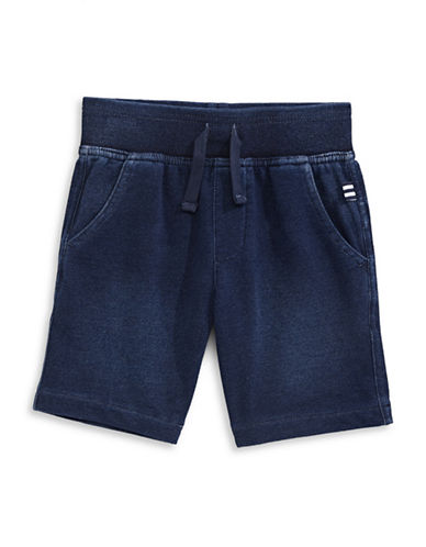 Splendid Relaxed Indigo Shorts-BLUE-2T