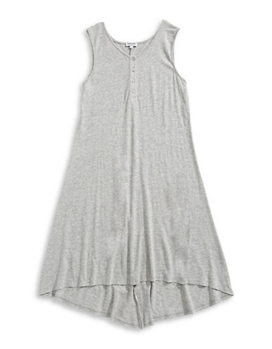 Splendid Henley Tank Dress-GREY-12