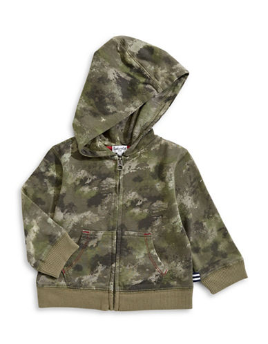 Splendid Camo Hooded Jacket-GREEN-3-6 Months