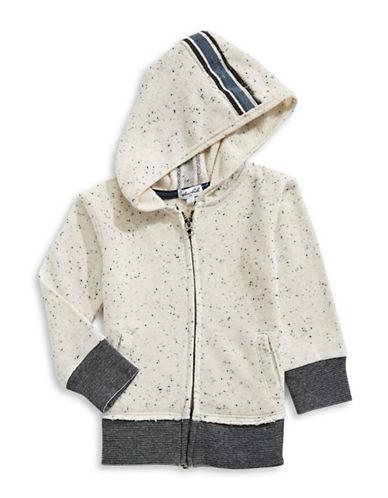 Splendid Speckle Hoodie-WHITE-4-5