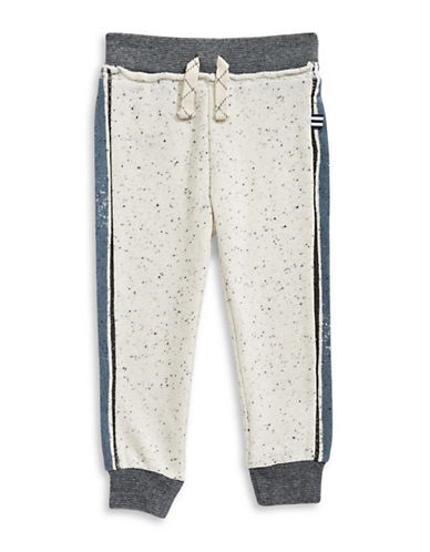 Splendid Speckle Jogger Pants-WHITE-3T