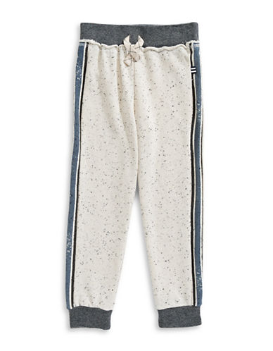 Splendid Elasticized Jogger Pants-WHITE-4-5