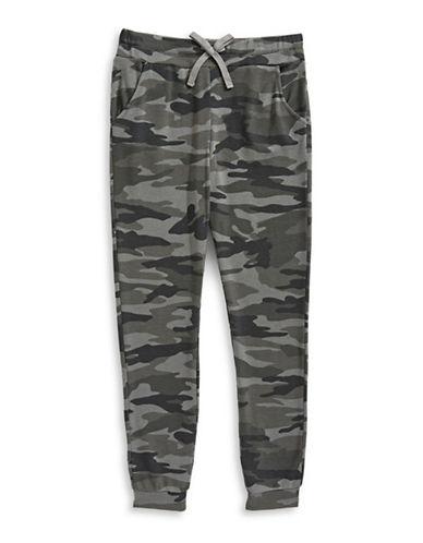 Splendid Camouflage Jogger Pants-CAMO-12
