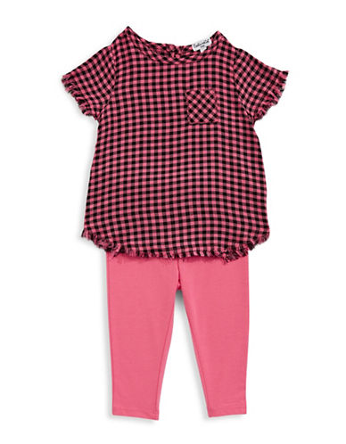 Splendid Plaid Two-Piece Set-PINK-3-6 Months