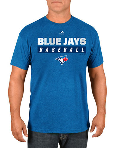 Majestic Toronto Blue Jays Proven Pastime Tee-BLUE-Small