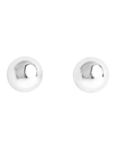 Anne Klein Ball Stud Earring-SILVER-One Size