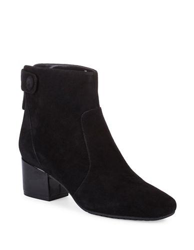 Bandolino Fauna Ankle Boots-BLACK-9.5