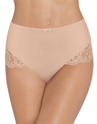 Triumph Elegant Touch Maxi Panty-NUDE BEIGE-Small