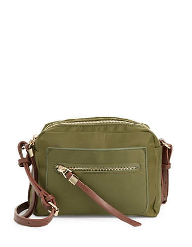 Sondra Roberts Squared Camera Bag-OLIVE-One Size