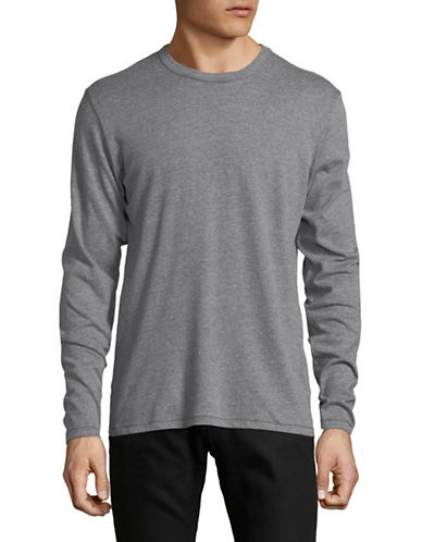 Alternative The Keeper Long Sleeve T-Shirt-BLUE-X-Large