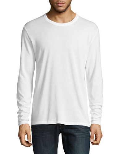 Alternative Long Sleeve Keeper T-Shirt-WHITE-Small