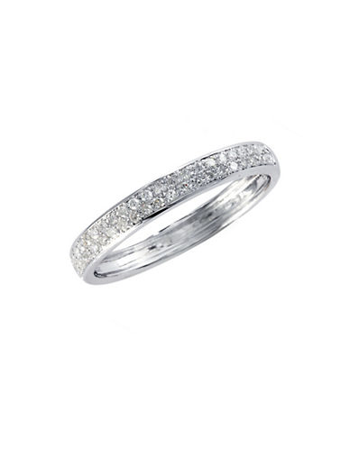 Effy 14K White Gold 0.19ct Diamond Ring-WHITE GOLD-7
