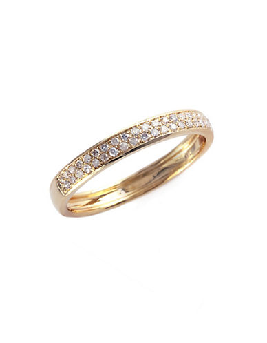 Effy 14K Yellow Gold 0.19ct Diamond Ring-YELLOW GOLD-7