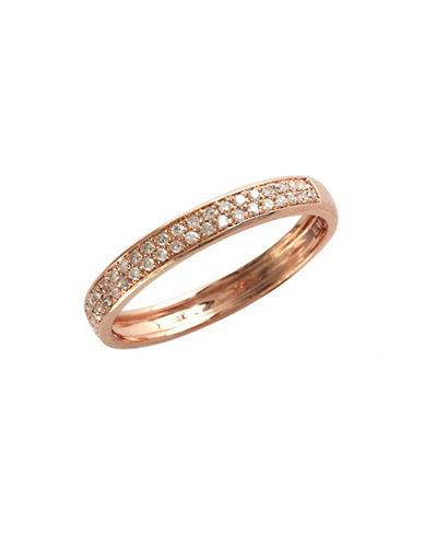 Effy 14K Rose Gold 0.19ct Diamond Ring-DIAMOND-7