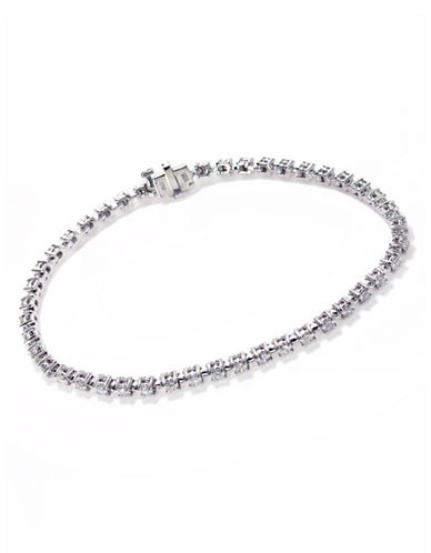 Effy 14k White Gold Diamond Tennis Bracelet-DIAMOND-One Size