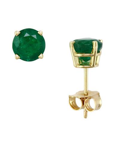 Effy Emerald Stud Earrings 1.62 TCW-EMERALD-One Size