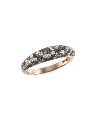 Effy 0.73 TCW Multi-Tone Diamond, 14K Rose Gold Ring-ROSE GOLD-7