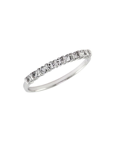 Effy 14K White Gold 0.25ct Diamond Stack Ring-DIAMOND-7