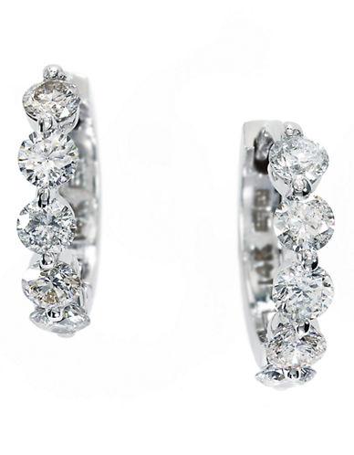 Effy 14k White Gold  Earrings-DIAMOND-One Size