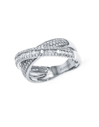 Effy 14K White Gold 0.67ct Diamond Ring-WHITE GOLD-7