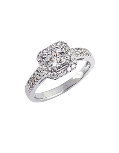 Effy 14K White Gold 0.50ct Diamond Engagement Ring-DIAMOND-7