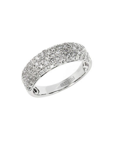 Effy 14k White Gold Diamond Ring-DIAMOND-7
