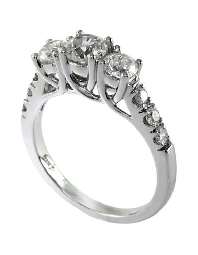 Effy 14K White Gold 1.50 Total Carat Weight Diamond NRing-DIAMOND-7