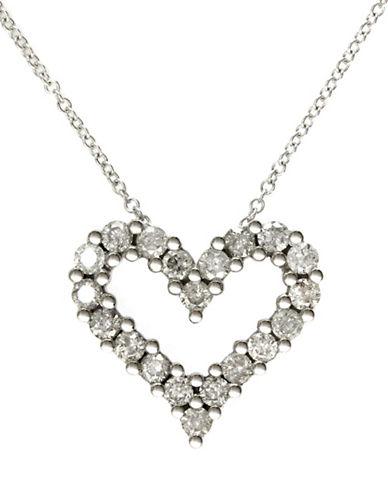Effy 14K White Gold Diamond Pendant-DIAMOND-One Size