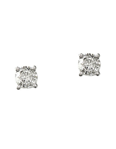 Effy 14K White Gold 0.50ct Diamond Earrings-DIAMOND-One Size
