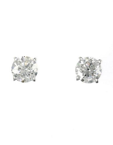 Effy 14K White Gold 1.00ct Diamond Earrings-DIAMOND-One Size