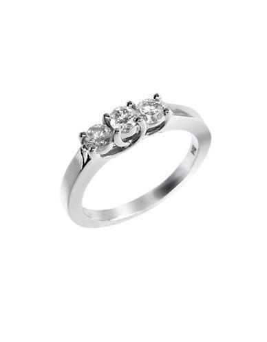 Effy 14K White Gold 0.50ct Diamond Ring-DIAMOND-7
