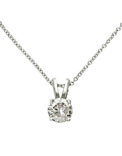 Effy 14K White Gold 0.50ct Diamond Pendant-DIAMOND-One Size