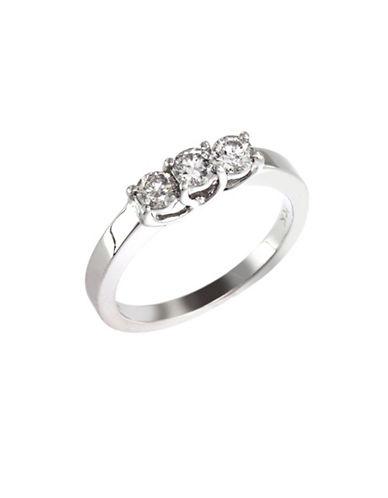Effy 14K White Gold 0.75ct Diamond Engagement Ring-DIAMOND-7