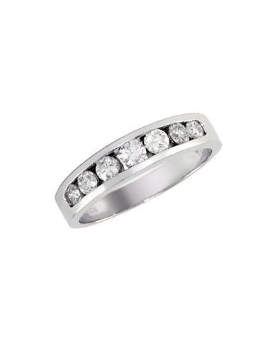 Effy 14K White Gold 0.50 Total Carat Weight  Diamond Wedding Band-DIAMOND-7