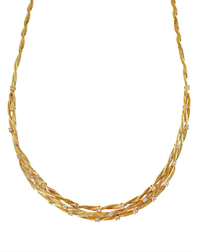 Effy 14K Yellow Gold 1.68ct Diamond Necklace-GOLD-One Size