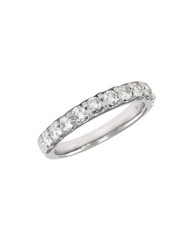 Effy 14K White Gold 1.00ct Diamond Wedding Band-DIAMOND-7