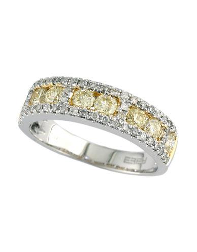 Effy 14K Two Tone Yellow Diamond Ring-YELLOW-7