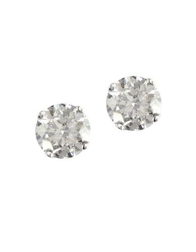 Effy 14K White Gold 0.50ct Diamond Earrings-DIAMOND-One Size
