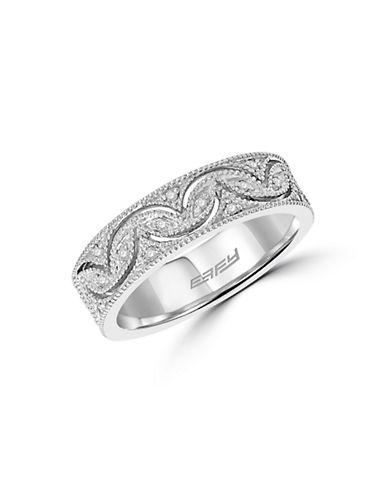 Effy 14K White Gold Diamond Band Ring-DIAMOND-7