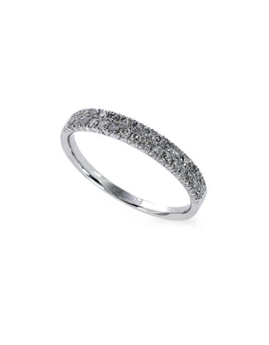Effy 0.37TCW Diamond 14K White Gold Ring-DIAMOND-7