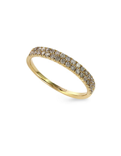 Effy 14K Yellow Gold Ring with 0.37TCW Diamonds-GOLD-7