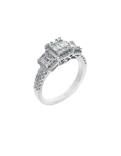 Effy 14k White Gold Diamond Engagement Ring-DIAMOND-7