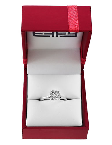 Effy 0.5 TCW Diamond Cluster Engagement Ring Box Set-DIAMOND-7