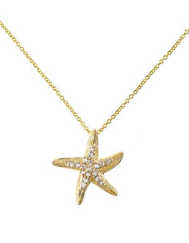 Effy 14K Yellow Gold 0.57ct Diamond Pendant-YELLOW-One Size